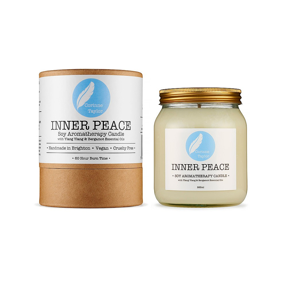Corinne Taylor Inner Peace Soy Aromatherapy Candle (300g)