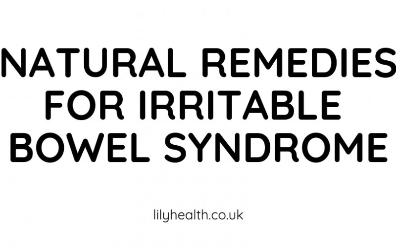 NATURAL REMEDIES FOR IRRITABLE BOWEL SYNDROME-2