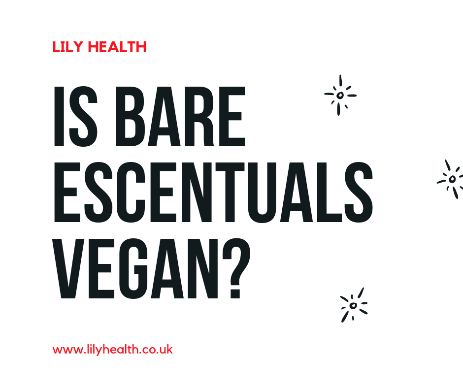 Is Bare Escentuals vegan