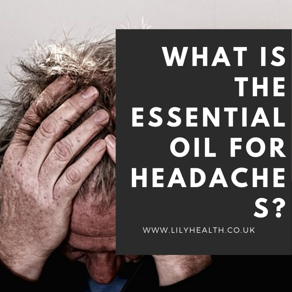 What is the essential oil for headaches?